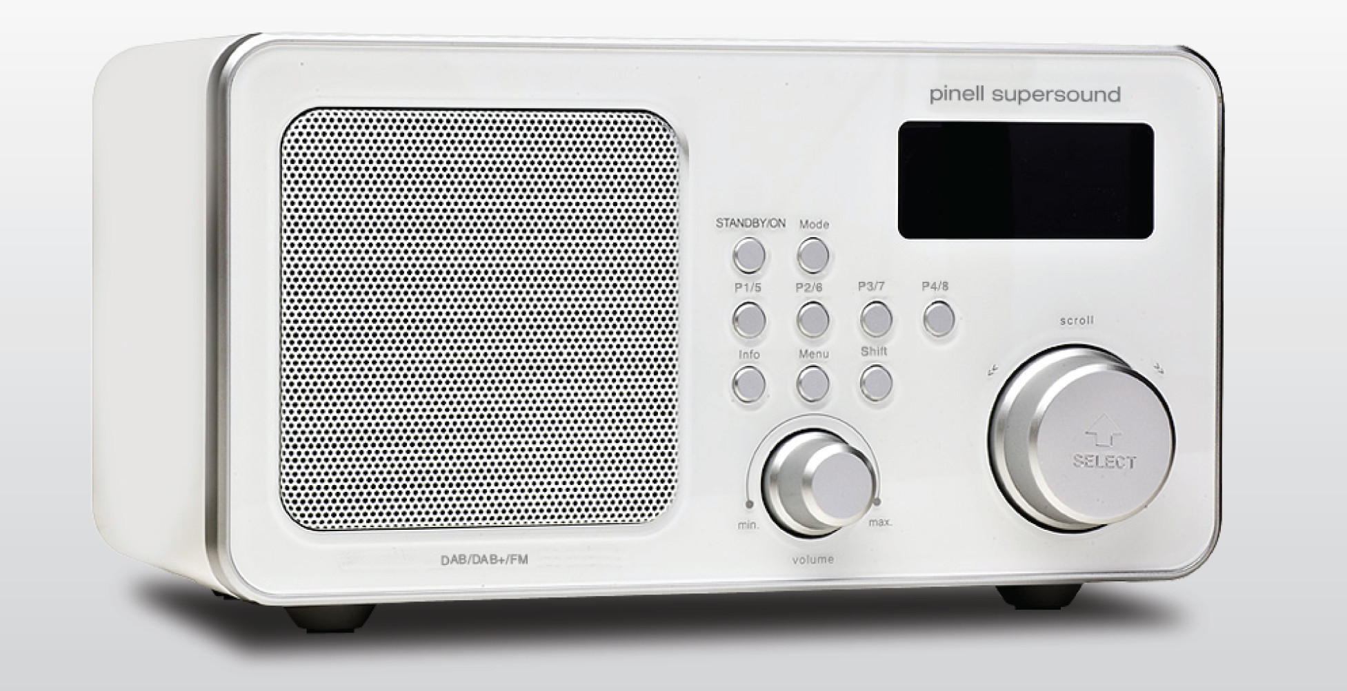 Pinell Supersound DAB+ Wit