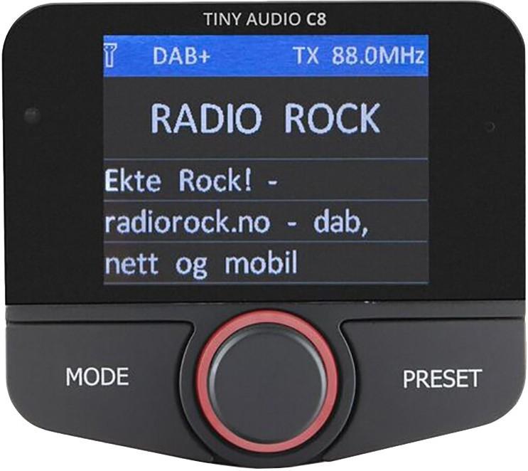 Tiny Audio C8 DAB+ Car Receiver & Entertainment System